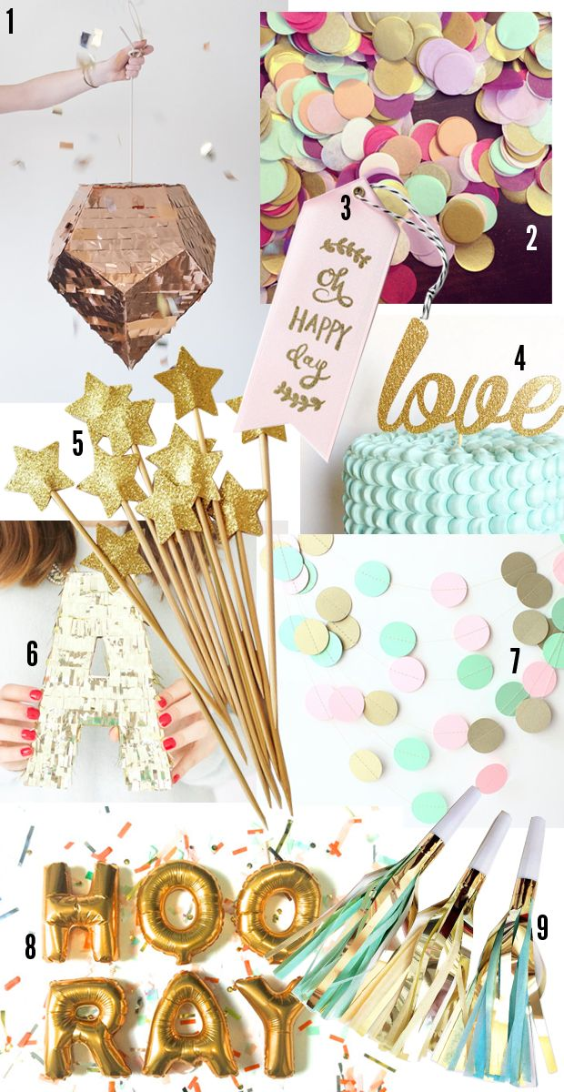 Etsy Party Supplies | Cupcakes & Cashmere
