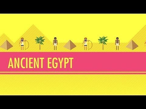 Ancient Egypt: Crash Course World History #4. In which John covers the long, long history of ancient Egypt, including the Old, Middle and New Kingdoms, and even a couple of intermediate periods. Learn about mummies, pharaohs, pyramids and the Nile with John Green. Subjects: History, Ancient Egypt. Length: 11:55.
