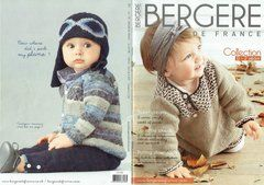 Bergere de France baby collection knitting pattern booklet