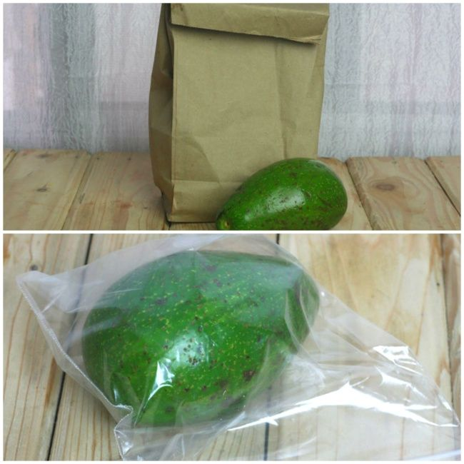 18ingenious tricks tohelp keep fruits and vegetables fresh - An unripened avocado should be placed in a thick paper bag or wrapped in newspaper and kept at room temperature until it's ripe. After this point, place it in a plastic bag and keep it in the refrigerator.