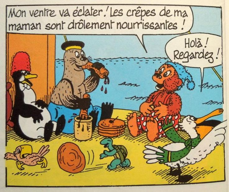 Rasmus Klump, by Carla & Vilhelm Hansen (Danish childrens cartoon, started in the 50's and still very popular)