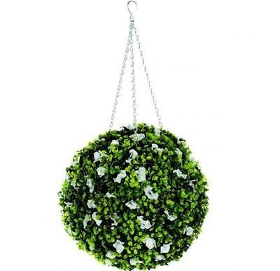 30cm decorative topiary ball artificial #plant hanging garden #leaves #buxus uk, View more on the LINK: http://www.zeppy.io/product/gb/2/111961442798/