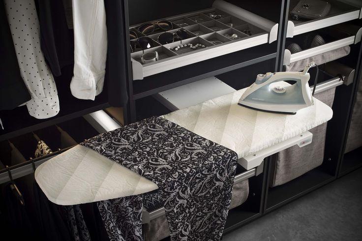 Hafele Ironfix Pull Out Ironing Board Closet Ideas