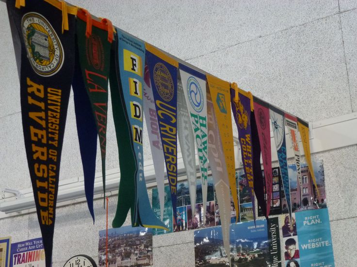Classroom Design Ideas Elementary ~ Hanging college pennants home decor ideas pinterest