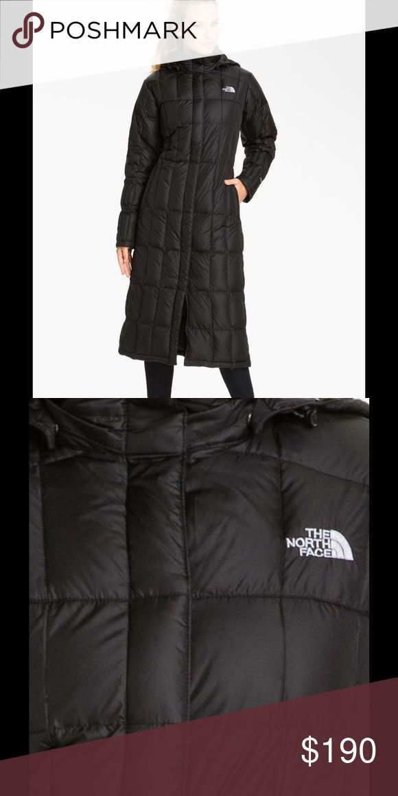 """The North Face Long Coat Down coat by The North Face. Super cozy, long & with hood. In great condition. Will keep you warm and protected through the harsh cold weather. 45"""" body length. Offers Welcome. The North Face Jackets & Coats"""