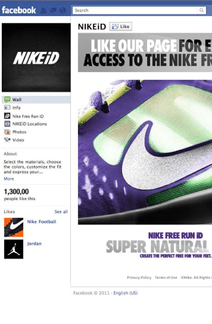 JESS3 x Nike: Nike Free Run iD Facebook
