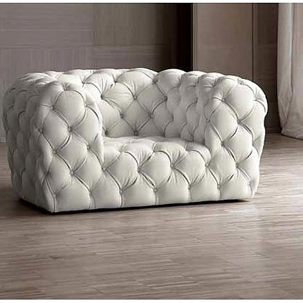 Chester Moon Armchair From Baxter, Designed By Paola Navone