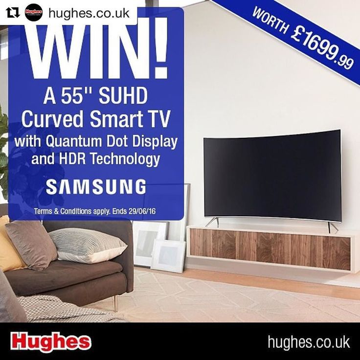 "#Repost @hughes.co.uk with @repostapp  Don't forget to enter our competition to WIN this Samsung 55"" SUHD Curved Smart TV with Quantum Dot Display and HDR Technology worth 1699.99! Simply follow us @hughes.co.uk screenshot & repost this post - remember to tag us in! Good luck  For T&Cs visit our website. #samsung #tv #suhd #4k #quantumdot #technology #home #competition #giveaway #win"