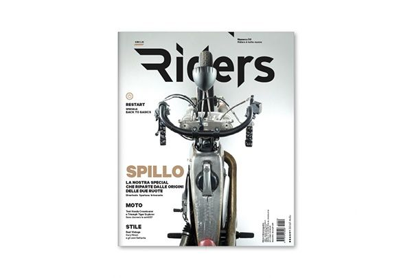 Re-styling of Riders, the leading Italian magazine of motorcycling published by Hearst since 2007.