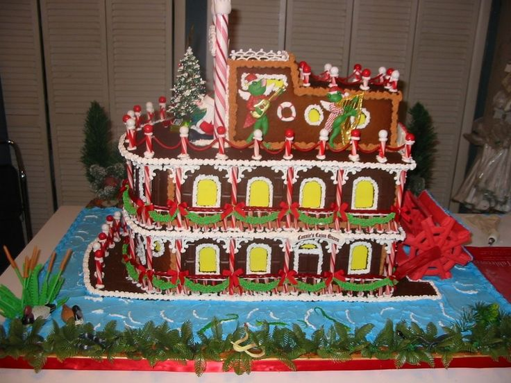 176 Best Gingerbread House Fantasy Images On Pinterest Christmas