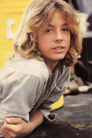 This was my first teenage crush. He came to Australia and I went and saw him.