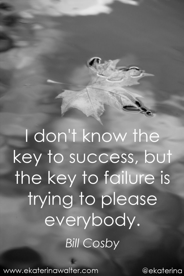 The key to #sucess quote Bill Cosby