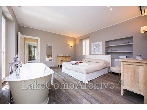 A cozy bathtub in your bedroom