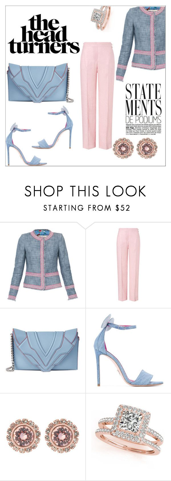 """""""Remember, wherever you go, whatever you do, always bring enough champagne because people are annoying & you're gonna wanna be drunk."""" by thefashionmess ❤ liked on Polyvore featuring ESCADA, Elena Ghisellini, Oscar Tiye, Ted Baker and Allurez"""
