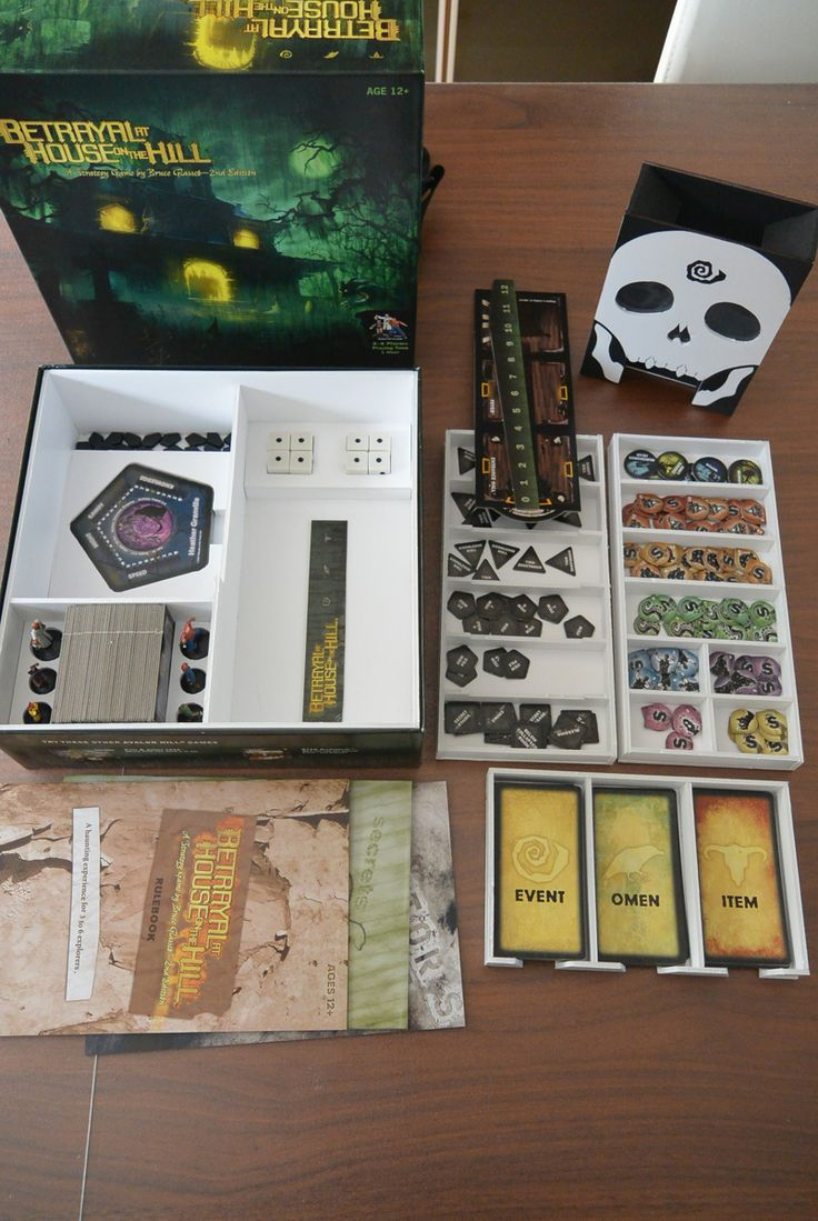 Making Box Inserts With Foamcore Heroquest Adventures