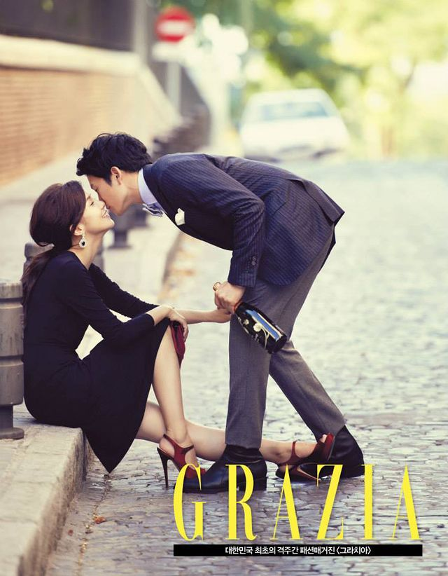 Go here and here for Ji Sung's and Lee Bo Young's previously released spreads from GRAZIA's October 1st isue.    Source | GRAZIA Korea on FB  &nbs…