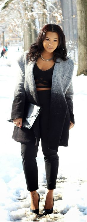 The Comfy Coat / The Allure Diaries