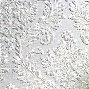 Shabby Chic Wallpaper Border   ... Large Traditional Damask Wallpaper,  21 Inch. Papier Peint ...