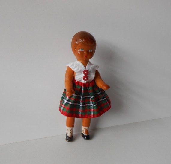 Bambolina vintage cm.10piccola bambola con di lepropostedimari