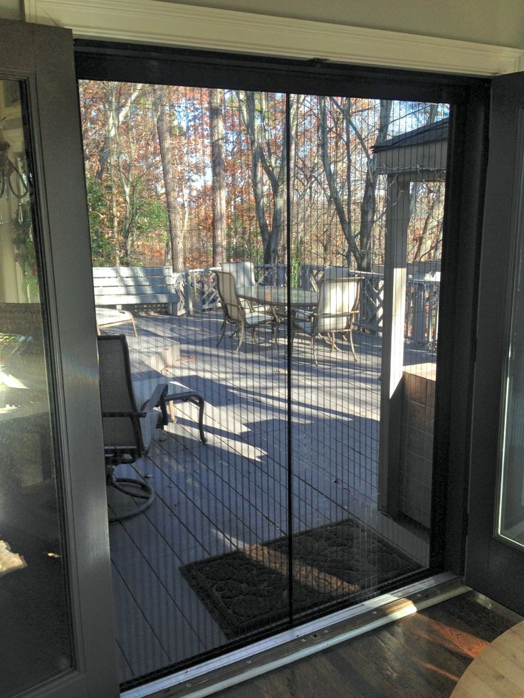 17 best images about scorpion retractable screens on for Hidden screens for french doors