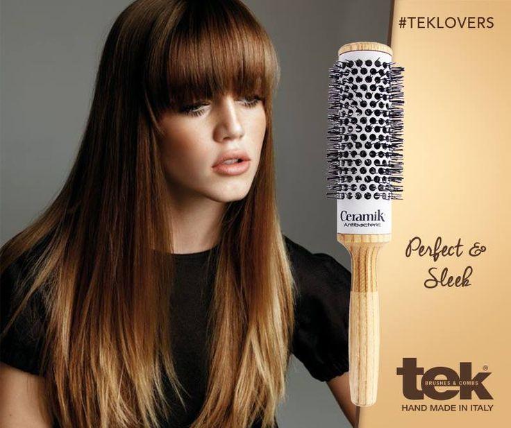 Escoje los cepillos Ceramik de Tek para sacar el máximo partido a tus peinados. www.tekitaly.es/cepillos-secador