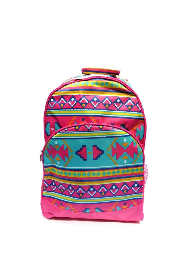 Morral Aztec ideal para llevar al colegio o universidad. Disponible en nuestra tienda online www.masdiseno.com