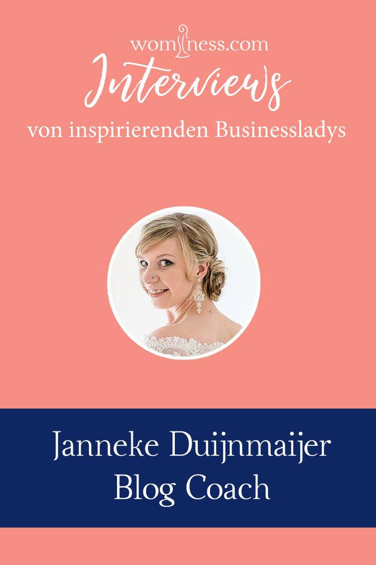Ein spannendes Interview mit Janneke Duijnmaijer. Sie ist Blog Coach und spricht mit uns zum Beispiel über das Thema Planung. Wenn du einen Blog starten willst, dann ist sie die Person, die dir dabei hilft. Ihre Blogartikel sind super für alle Blogger und ich konnte selbst schon viel von ihr lernen. :)   Mehr über Janneke