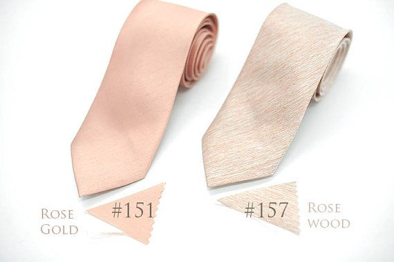 semi shiny copper rosegold rosewood texture nude neutral tan champagne,neutral ties,groomsmen,men,neutral tone wedding,nude rosegold wedding