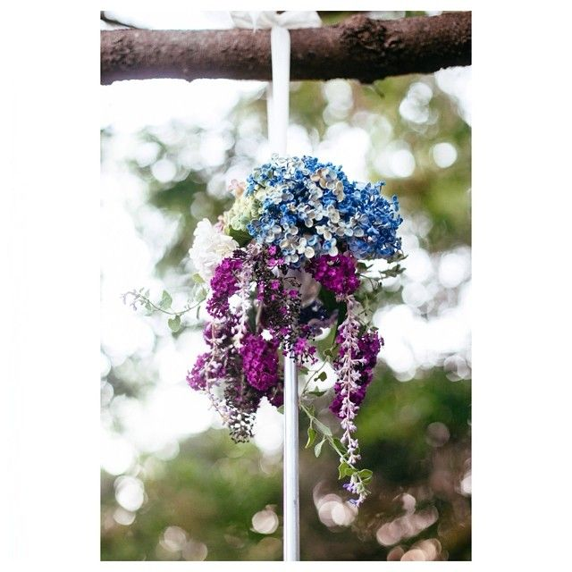 Floral chandelier detail #floralchandeliers #flowers #willowandvine #weddings #parties #styling #eventdecor