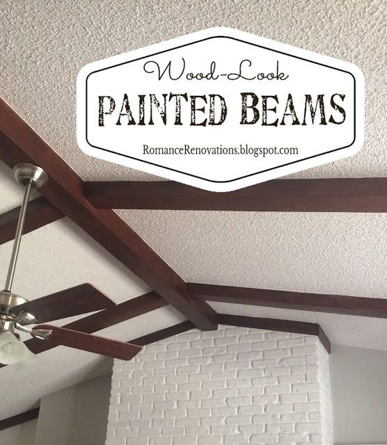 17 Best Ideas About Painted Ceiling Beams On Pinterest Painted Beams Painted Wood Ceiling And