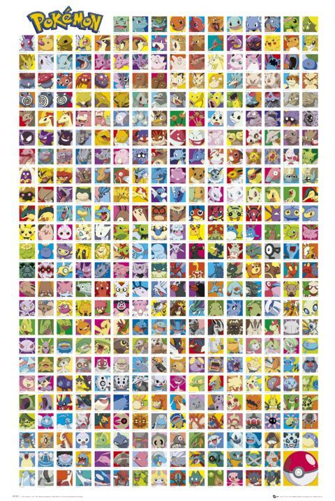 Pokemon Names | Pokemon list with pictures and names 2 pokemon list with pictures and ...
