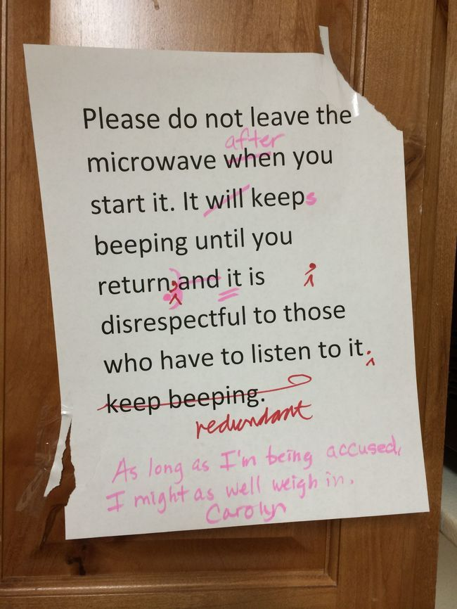 26 Clever Office Notes You Wish Your Coworkers Left You