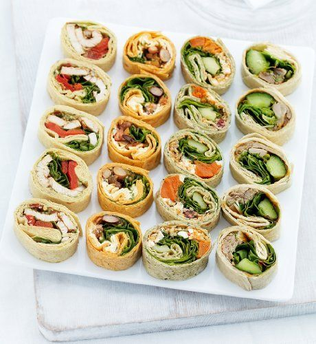 Mini wrap slices
