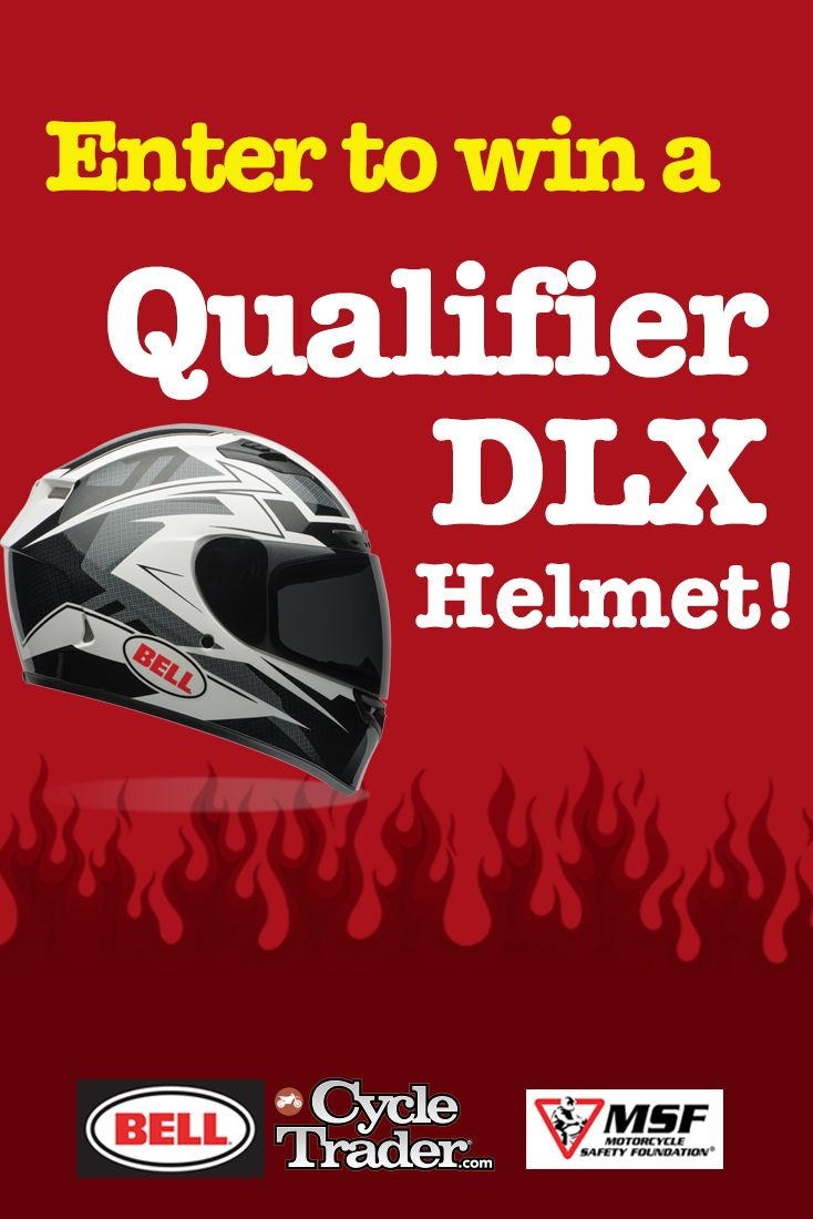 Take the pledge to be a safe & responsible rider and you will be entered to win a $225 Qualifier DLX helmet!  http://www.pages05.net/dominionwebsolutions/Register/WinaBellHelmet/