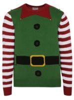 Elf Christmas Jumper | Men | George at ASDA