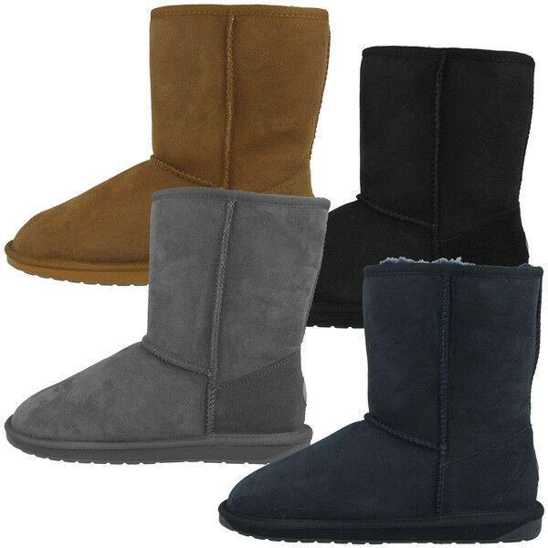 Emu Australia Stinger Lo Women Damen Schuhe Boots Stiefel Gefuttert W10002 Ebay Schuhe Frauen Stiefel Damen Boots