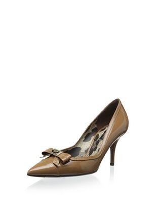 42% OFF Dolce & Gabbana Women's Pointed-Toe Pump (Beige)