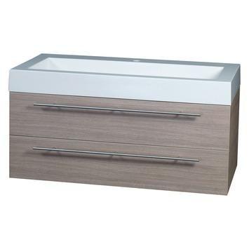 Differnz Force badkamermeubel 100 cm eiken kopen? Verfraai je huis & tuin met Badkamermeubelen van KARWEI