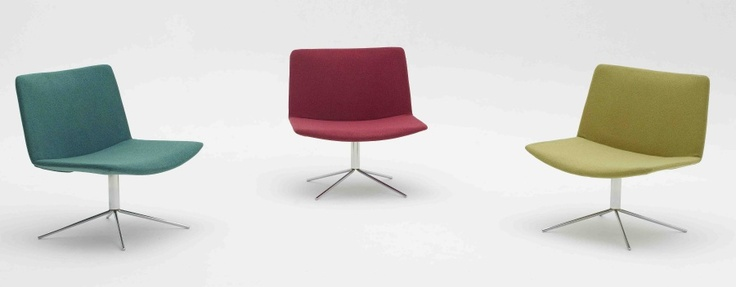 Ergoform Office Furniture : Yuna chairs. Simplistic lines - great for the break away areas or for the reception  http://www.ergoform.co.za/sofas.htm#