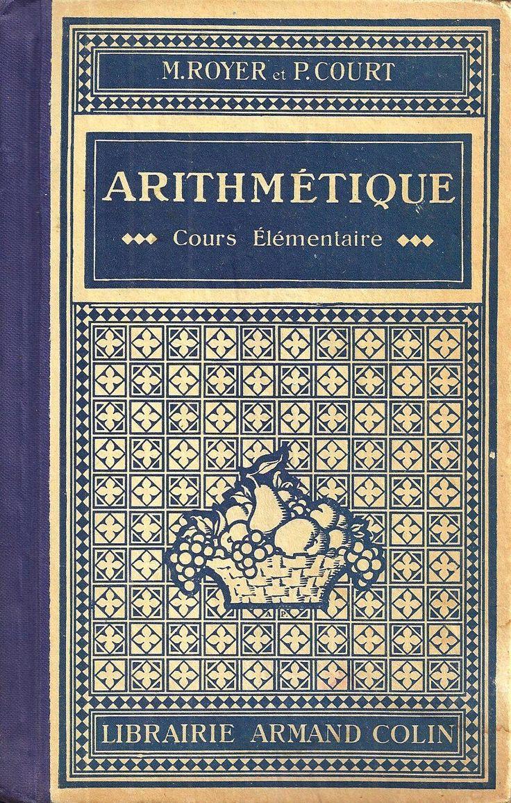 Royer, Court, Arithmétique Cours élémentaire - Programme de 1923