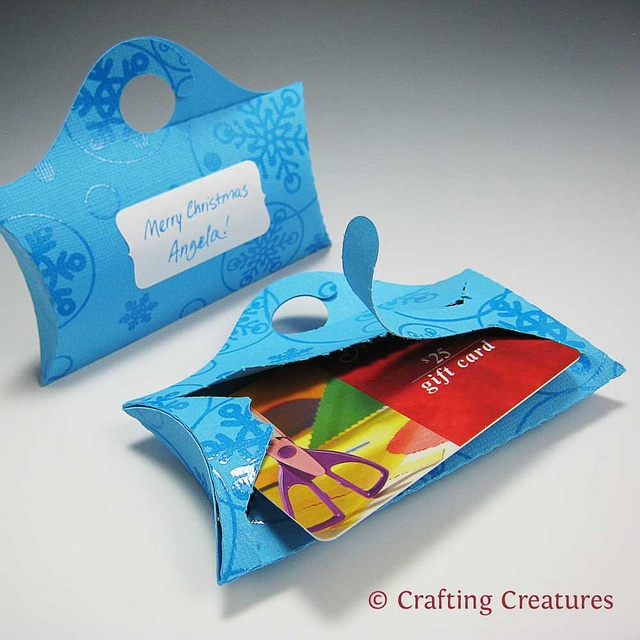 78 best starting a gift card business images on pinterest gift glue your die cut box shut keeping your gift a secret then colourmoves