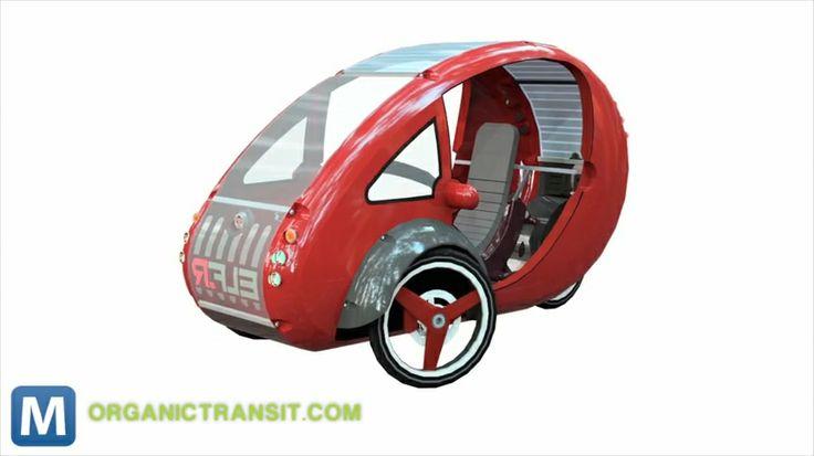 Elf Car Bike Elf Combines Bike And Car For 3 Wheeled