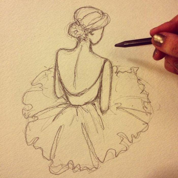 ▷ 1001 + photographs pour le dessin fille parfait – des idées pour développer son créativité