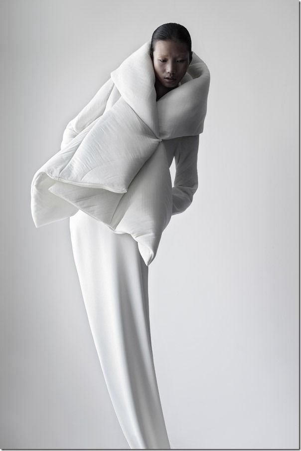 Qui Hao & Matthieu Belin, Architectural Fashion and Photography, Serpens Collection