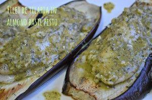 Filet de Tilapia in Almond Basil Pesto