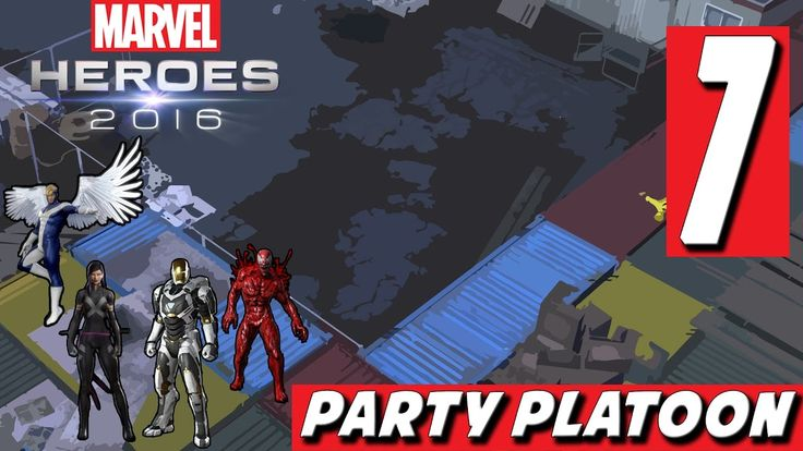 Marvel Heroes 2016 (#7 Iron Man Gameplay) Beating Up Crossbones and Venom