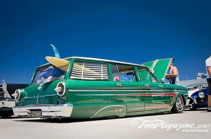 "Ford XP Falcon station wagon - Remember the ""Surfin Safaris""?"