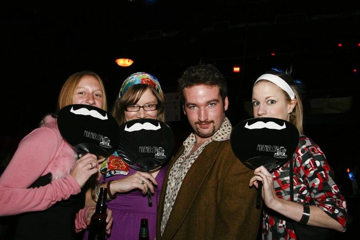 Canada 2011 Movember Gala A Mo Bro with his #MoSistas