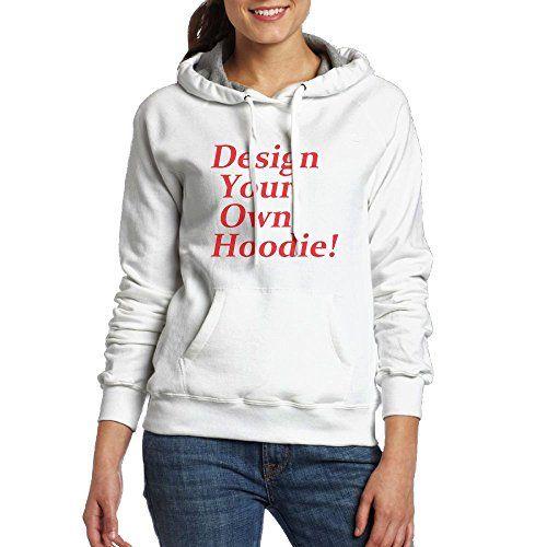 xieshengwu Design Your Own Hoodie Women Hoodies-Tops Long Sleeve Drawstring  Sweatshirt With Pocket 83393aea2