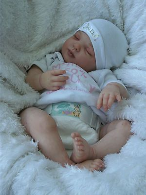 Beautiful Realistic Reborn Baby Girl Doll from 'Rose' sculpt